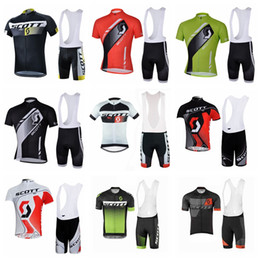 $enCountryForm.capitalKeyWord Canada - 2019 SCOTT Summer Pro team Short Sleeve Men's Cycling Jersey Bib Shorts Set Bike Clothes Bicycle Clothing kits52265