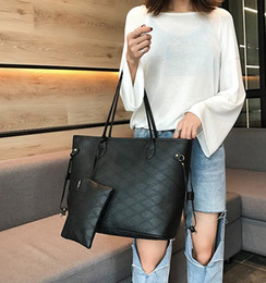 european american designer handbags 2019 - Casual Tote Women Shoulder Bags Cow Genuine PU Leather Women Bags Designer Female Handbags Hobo Crossbody BagsS with Wal