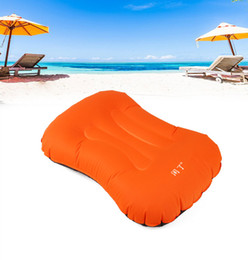 $enCountryForm.capitalKeyWord Australia - Inflatable Pillow Travel Air Pillow Neck Camping Sleeping Gear Fast Portable