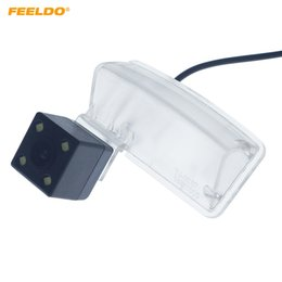 Wholesale FEELDO Car CCD Rear View Camera with LED For Zotye T600 Auto Reversing Backup Parking Camera