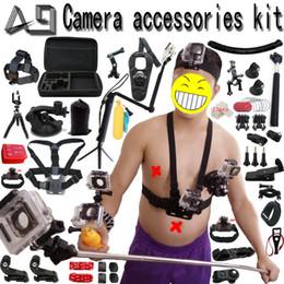 Tripod Australia - A9 for Gopro Accessories set for go pro hero 6 5 4 3 kit mount for SJCAM SJ4000   xiaomi yi   eken h9   sony action cam tripod
