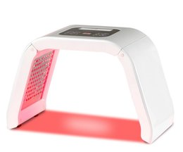 Light Treatments For Skin Australia - Newest 4 Colors PDT led light therapy Machine LED Facial Mask Beauty SPA Photo therapy For Skin Care IPL Machine Acne Remover Treatment DHL