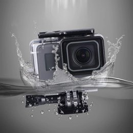 Hero Diving Housing Australia - NEW Diving Waterproof Case Housing For Gopro Hero 7 black Underwater Protection Shell Box Go pro Camera Protection Case Mount Accessories