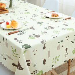 $enCountryForm.capitalKeyWord Australia - Pastoral Plaid Rectangular Waterproof Tablecloth Fabric Pvc Tea Table Cloth Waterproof Oilproof For Table Cover Plastic For Home Y19062103