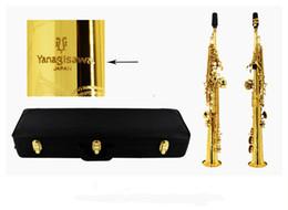 Wholesale Yanagisawa Best quality S-901 Soprano Saxophone Straight B flat treble musical instruments professional saxophone With Case