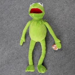 $enCountryForm.capitalKeyWord NZ - Hot Sale 14'' 40cm Kermit Plush Toys Sesame Street Doll Stuffed Animal Kermit Toy Plush Frog Doll Holiday Gift