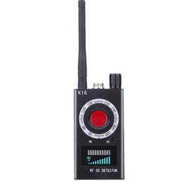 camera scan Australia - Exquisitely Designed Durable RF Signal detector Anti- Detector Camera K18 GSM Audio Bug Finder GPS Scan car
