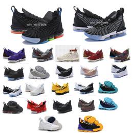 Scarpe da basket da uomo per uomo, anni '70, james, sneakers, guardare il re trono, oreo new LeBron XVI SB EP 16 uguaglianza szie 40-46