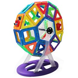 magnetic blocks educational Australia - Children's educational toys with magnetic building blocks