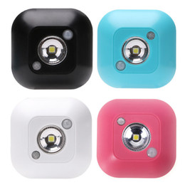 Hot detector online shopping - Hot Motion Sensor Night Light Potable LED Closet Lights AAA Battery Powered Wireless Cabinet IR Infrared Motion Detector Wall Lamp