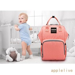 girl diaper mommy NZ - Mummy Backpack Baby Diaper Nappy Backpack Multifunctional Mommy Bag Changing