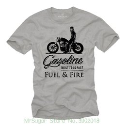$enCountryForm.capitalKeyWord NZ - Biker T-shirt Herren Mc Bobber Chopper Rocker Geschenke Motorradfahrer Motorrad Tops Tees Printed Men T Shirt