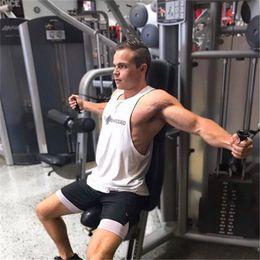 $enCountryForm.capitalKeyWord Australia - Brand Gyms Tank Top Mens Sleeveless shirts Summer Cotton Slim Fit Men Clothing Bodybuilding Undershirt Fitness tops tees