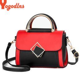Car totes online shopping - Yogodlns Women Small Square Bag Ladies Car Line Patchwork Fashion Handbag Retro Shoulder Bags Messenger bag Mobile Phone Packet