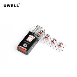 cigarette crown UK - Uwell Crown IV Replacement Coils Dual SS904L 0.2ohm   0.4ohm 4pcs pack For CROWN 4 Tank Atomizer Electronic Cigarettes Coil Heads Authentic