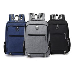 Discount travel laptop cases - 15 15.4 15.6 inch with USB interface Laptop Notebook Bags Backpack Case for Men Women School Travel Student