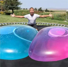 $enCountryForm.capitalKeyWord Australia - Amazing Bubble Ball Funny Toy Water-filled TPR Balloon For Kids Adult Outdoor wubble bubble ball Inflatable Toys Party Decorations 2 colors.