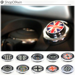 $enCountryForm.capitalKeyWord NZ - nterior Accessories Automotive Interior Stickers Chrome Engine one Start stop Push button Cap Cover Decoration For 2ndGen MINI Cooper one...