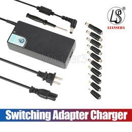 Version améliorée SP26 120W Alimentation universelle pour ordinateur portable 12-24V Adaptateur de commutation Chargeur avec USB 5V / 2.4A pour la plupart des ordinateurs de marque en Solde