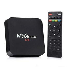$enCountryForm.capitalKeyWord Australia - MXQ PRO Android 7.1 Quad Core Amlogic S905W 1GB 8GB Smart TV Box 4K 2.4G WIFI Set top Box Media Player