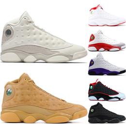 $enCountryForm.capitalKeyWord Australia - 13s 13 Phantom Wheat Mens Basketball Shoes Chicago Black Cat Love And Respect Black Red White Grey Toe Barons Mens Sports Trainer Sneakers
