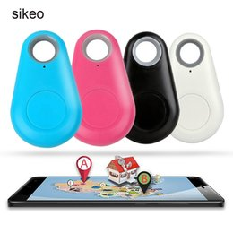 $enCountryForm.capitalKeyWord Australia - Sikeo Smart Bluetooth Tracker Locator Tag Wireless Anti-lost Alarm Reminder Wallet Key Keychain Finder Anti Lost Tracker 4 Color GPS