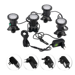 Underwater spot online shopping - 4pcs Waterproof RGB LED Underwater Spot Light For Swimming Pool Fountains Pond Water Garden Aquarium Fish Tank Spotlight Lamp
