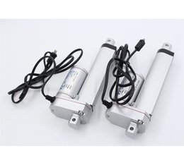 Wholesale Window Opening Electric DC Motor Linear Actuator n mm s mm Stroke Ce RoHS Certificate solar tracker usage