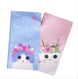 Cat notebook notepad online shopping - cute portable notebook pink animals cats rabbits panther unicorn agenda diary journal notebook school office supplies