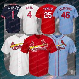 paul goldschmidt jersey 2019 - cheap 46 Paul Goldschmidt jersey Cardinals jerseys 25 Dexter Fowler Jersey 1 Ozzie Smith Jersey 4 Yadier Molina Jerseys