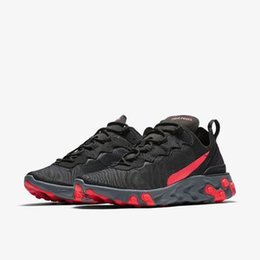 Leather Running Shoes For Men UK - React Element 87 Undercover Men Running Shoes For Women Designer Sneakers Sports Mens Trainer Shoes Sail-sa1d85qwzxcqw