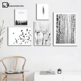$enCountryForm.capitalKeyWord Australia - Nature Winter Forest Nordic Poster Black White Scenery Canvas Art Decorative Print Wall Painting Scandinavian Decoration Picture