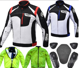 motorcycle uv jacket NZ - New breathable motorcycle racing suit off-road anti-fall protective clothing jacket outdoor motorcycle brigade riding waterproof clothing pr