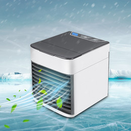 $enCountryForm.capitalKeyWord Australia - Air Cooling Fan Mini USB Portable Air Conditioner Humidifier Purifier Light Desktop Air Cooler Fan Table Desk Home Travel Hand