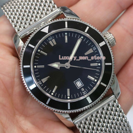 superocean heritage watch 2019 - Upgraded version Top Quality Luxury mens watch Superocean Heritage Black Stainless Steel A1732024 Eta 2813. Automatic Mo