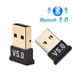 Опт Bluetooth 5.0 USB Dongle адаптер передатчик беспроводной приемник аудио Dongle Sender для компьютера ПК портативный ноутбук Bt V5.0 Беспроводная мышь