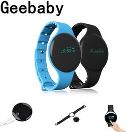 Gps bracelets tracker for kids online shopping - H8 Smart Bracelet Bluetooth Wristbands Sleep Tracker Sport Watch for iPhon huawei xiaomi IOS Android smart watch