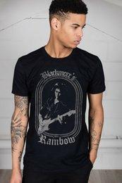 Black White Rainbow Rose NZ - Official Rainbow Blackmores Unisex T-Shirt Rising Down To Earth Rock Roll Album Men Women Unisex Fashion tshirt Free Shipping
