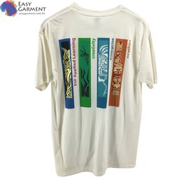 $enCountryForm.capitalKeyWord Australia - clothing manufacturers High quality Custom pattern silk screen printing 180 gram blank t-shirts with stretch cotton