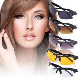 Night visioN goggles glasses online shopping - Fishing Eyewear Polarized Driving night Sunglasses Night Vision Goggles Eyeglasses Explosion proof Spectacle Eye Glasses Glass