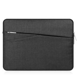 """Macbook 13 Inch Waterproof Australia - Laptop waterproof Bags Sleeve Notebook Case for Macbook 11 12 13 14 14 15.6""""Zipper Bag for Retian Pro 13. 3 Computer bag"""