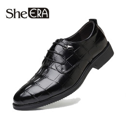 $enCountryForm.capitalKeyWord NZ - Large Size 48 Fashion Leather shoes Men Dress Shoe Pointed Oxfords Shoes For Men Lace Up Designer Luxury Formal 2018