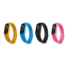 $enCountryForm.capitalKeyWord Australia - M2 plus Smart Bluetooth 4.0 Blood Pressure Waterproof IP67 Smart Bracelet Heart Rate Monitor Sleep monitor Wristband for IOS Android