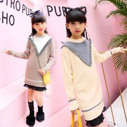 $enCountryForm.capitalKeyWord Australia - Autumn Winter Children Cotton Sweaters Pullover Kids Cartoon Thick Sweater Long Top Child Fashion Dress Clothes