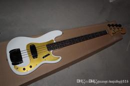 Best Bass guitars online shopping - best guitar Custom Shop Precision Bass Electric Guitar P Bass NOS White Blonde100 Excellent Quality