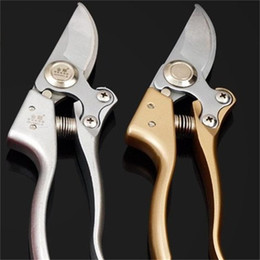Gardening Fruit Branch Scissors Four Colors Metal Handles Garden Flower Trimming Pruners Durable Pruning Tools 210mm 23 5jd E1 on Sale