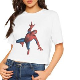 $enCountryForm.capitalKeyWord Australia - Tom Holland Womens T-Shirts Midriff-baring Casual Sweatshirts Multi Novelty Clothing Short Sleeve 100% Cotton Tee Shipping Free