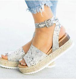 Опт Бесплатная доставка Сандалии на высоких каблуках Летняя обувь флип-флоп Chaussures Femme Платформы сандалии