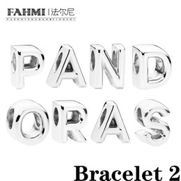silver bracelets for kids NZ - Fahmi 2020 Spring Silver Cartoon Mi Min Beads Charm Withsilver Plated Chain Bracelet & Bangle for Women Kids Jewelry Dropshipping