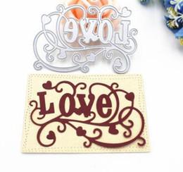 $enCountryForm.capitalKeyWord Australia - Metal Cutting Dies Love Letter Background Frame DIY Scrapbooking Die Cuts Greeting Card Decor Embossing Folder Cut Xmas Gift